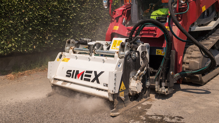 Simex PL 1000: Water supply maintenance benefits from planer performance